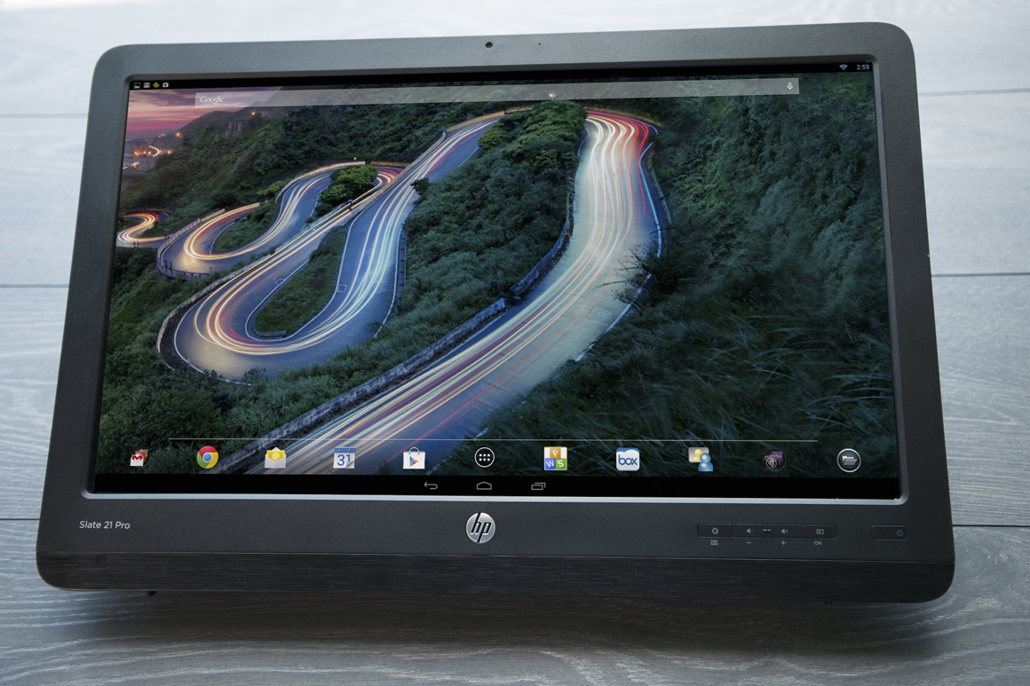 HP Slate 21 Pro Android all-in-one PC review | PCWorld