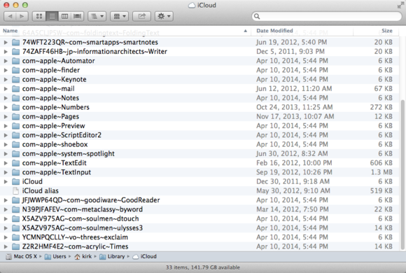 How to access icloud files from your mac macworld for Documents to icloud from mac