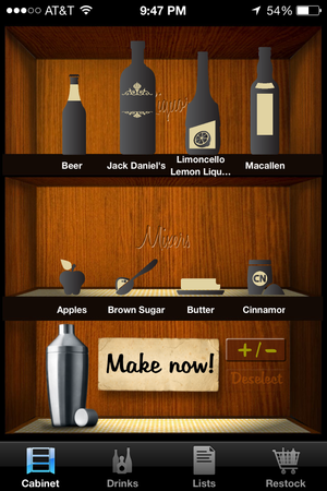 liquor cabinet make now
