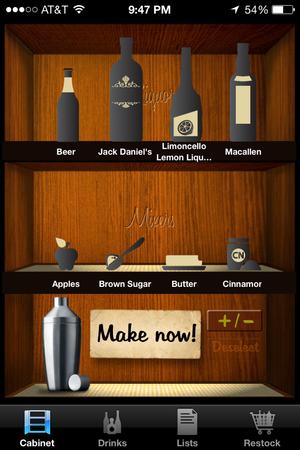 liquor cabinet make now