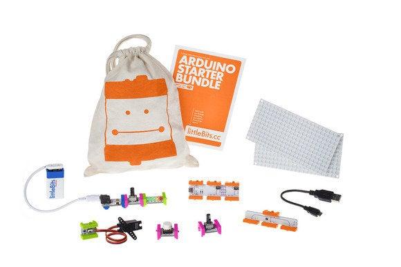 New development kits make arduino easier for the do it yourself littlebits arduinostarterbundle solutioingenieria Gallery