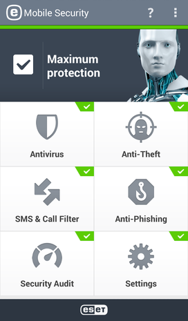 mobile security and anti virus eset