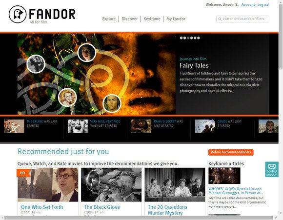 movie streaming fandor