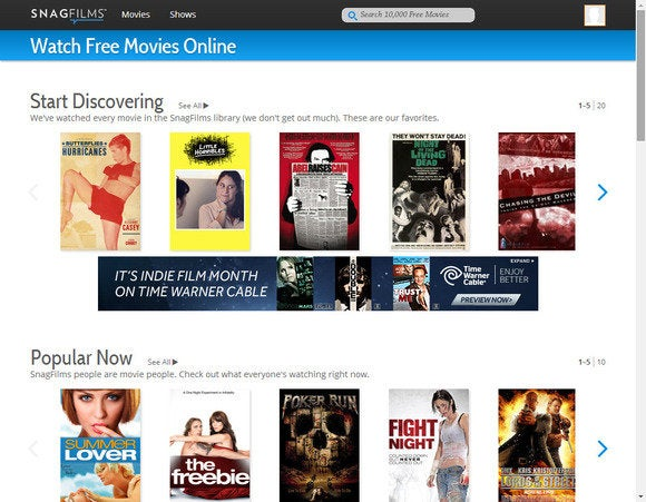 movie streaming snagfilms
