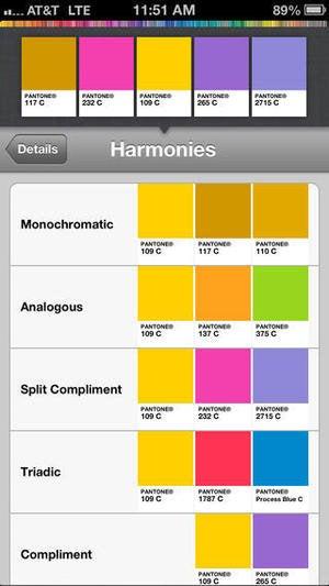 mypantone app