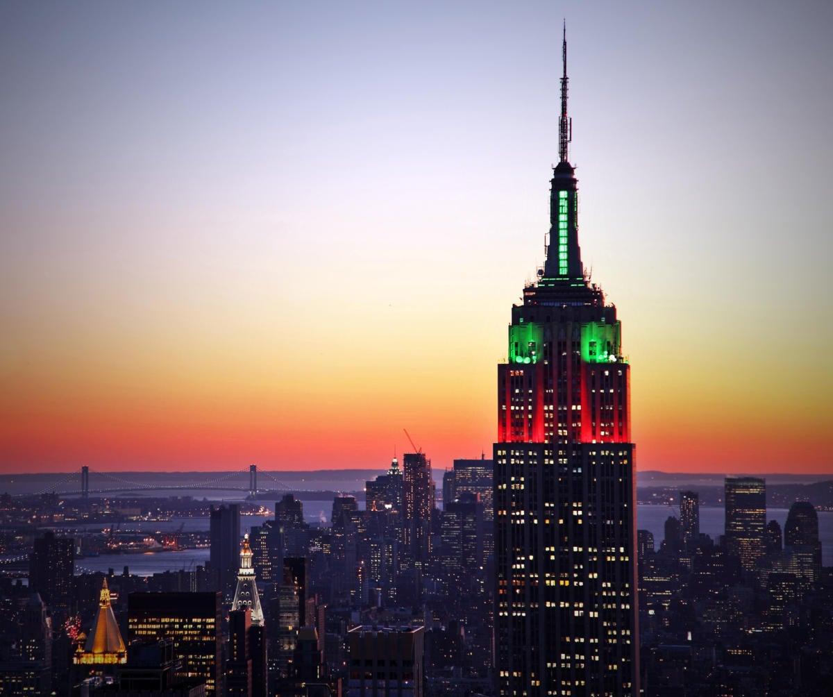 new york skyline 101341073