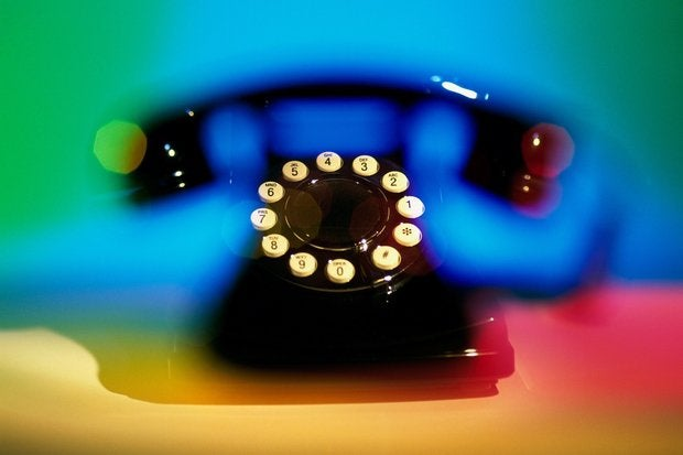 old fashioned telephone with numbers highlighted 122400053