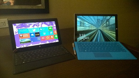 Surface Pro 3 Surface Pro 2