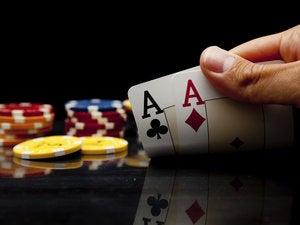 playing poker 108731472