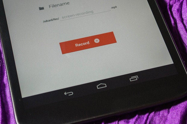 How to use native screen recording in Android 4 4 - with and without