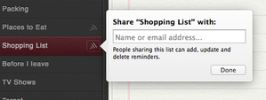 reminders mac sharing
