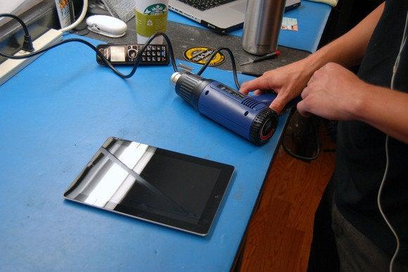 set up workspace ipad repair