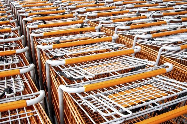 shopping carts 167634551