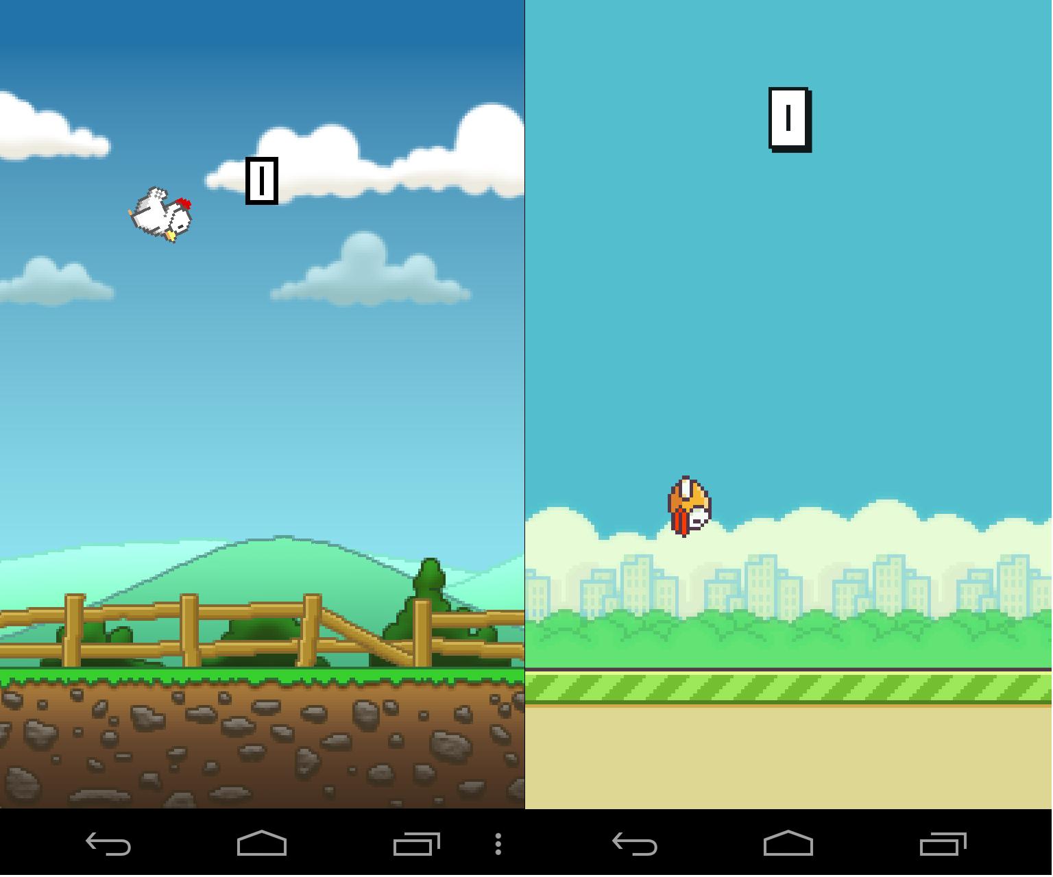 Meet Tappy Chicken, the Flappy Bird clone a non-coder made