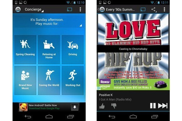 Songza for Android