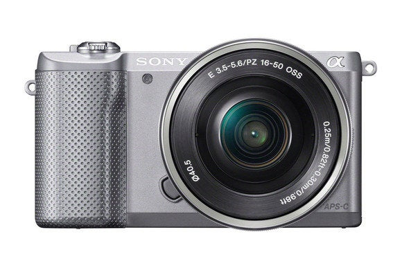 sony a5000 silver front