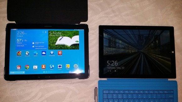 surface Pro 3 vs note Pro
