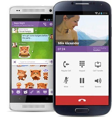 viber android image