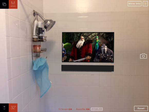 vizio showroom screen3