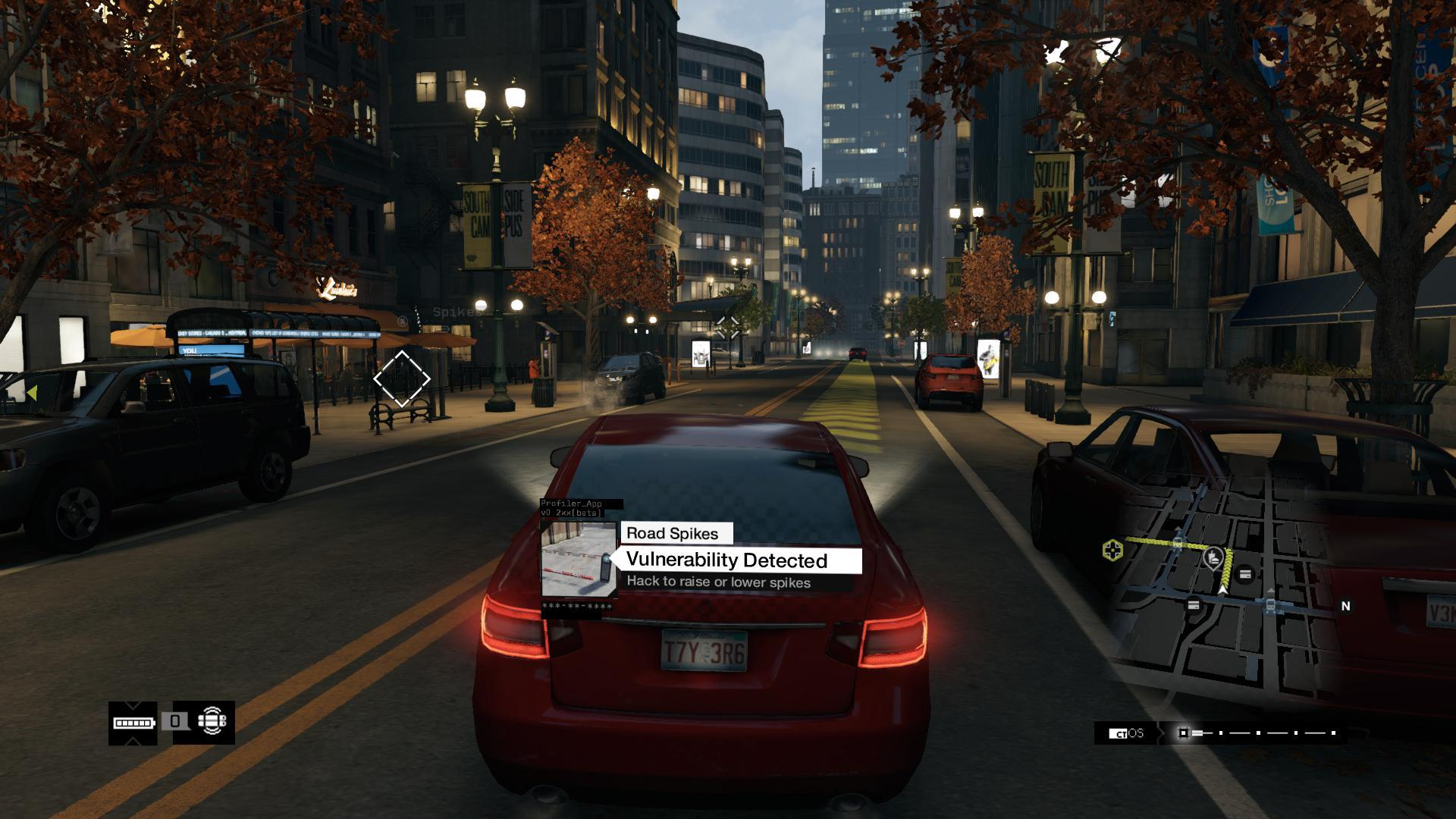 Driving Watch Dogs