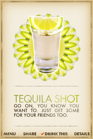 what cocktail tequilla shot
