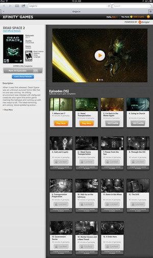 xfinity games dead space 2