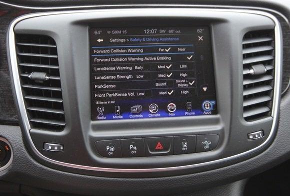 2014 chrysler 200 lane keeping steering wheel display settings may 2014