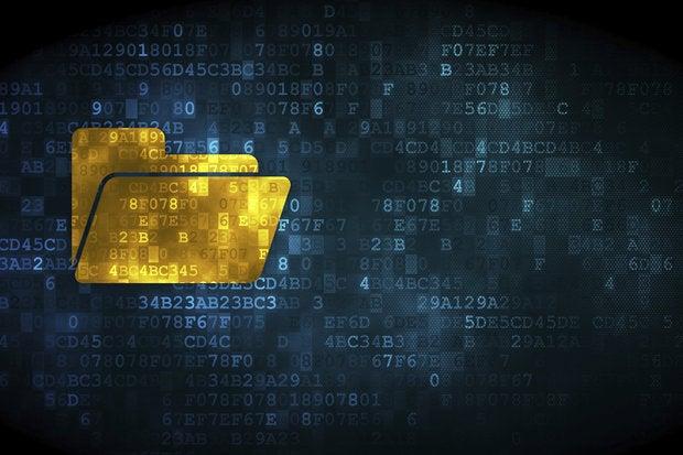 security data files