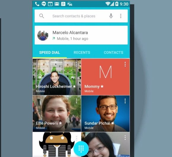 android l phone dialer