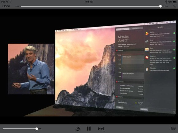 apple wwdc os x yosemite 32