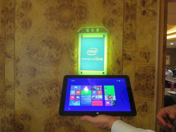 Computex Intel Llama Mountain tablet Broadwell