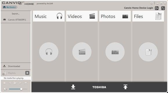 Toshiba Canvio Home Backup & Share