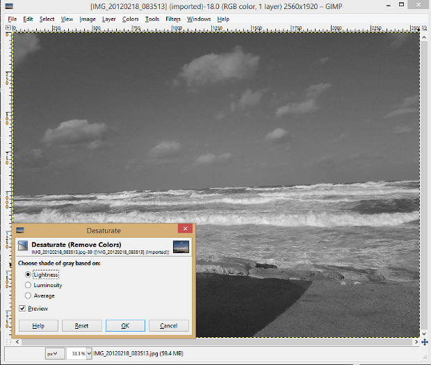 free photo editing software gimp review