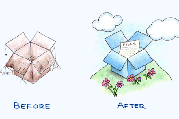 dropbox before after