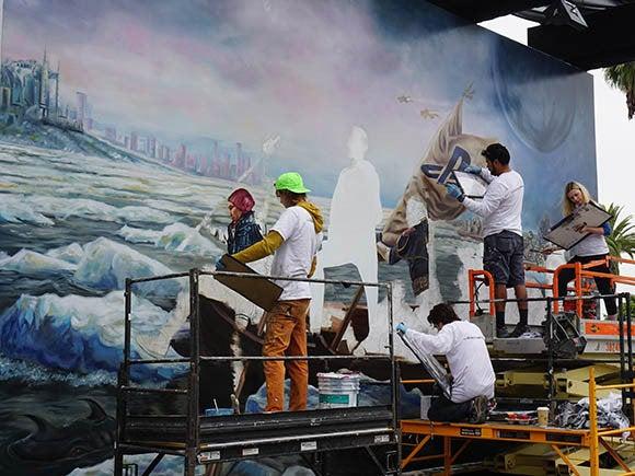 e3 mural