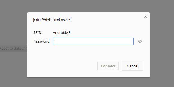 enter new wpa password