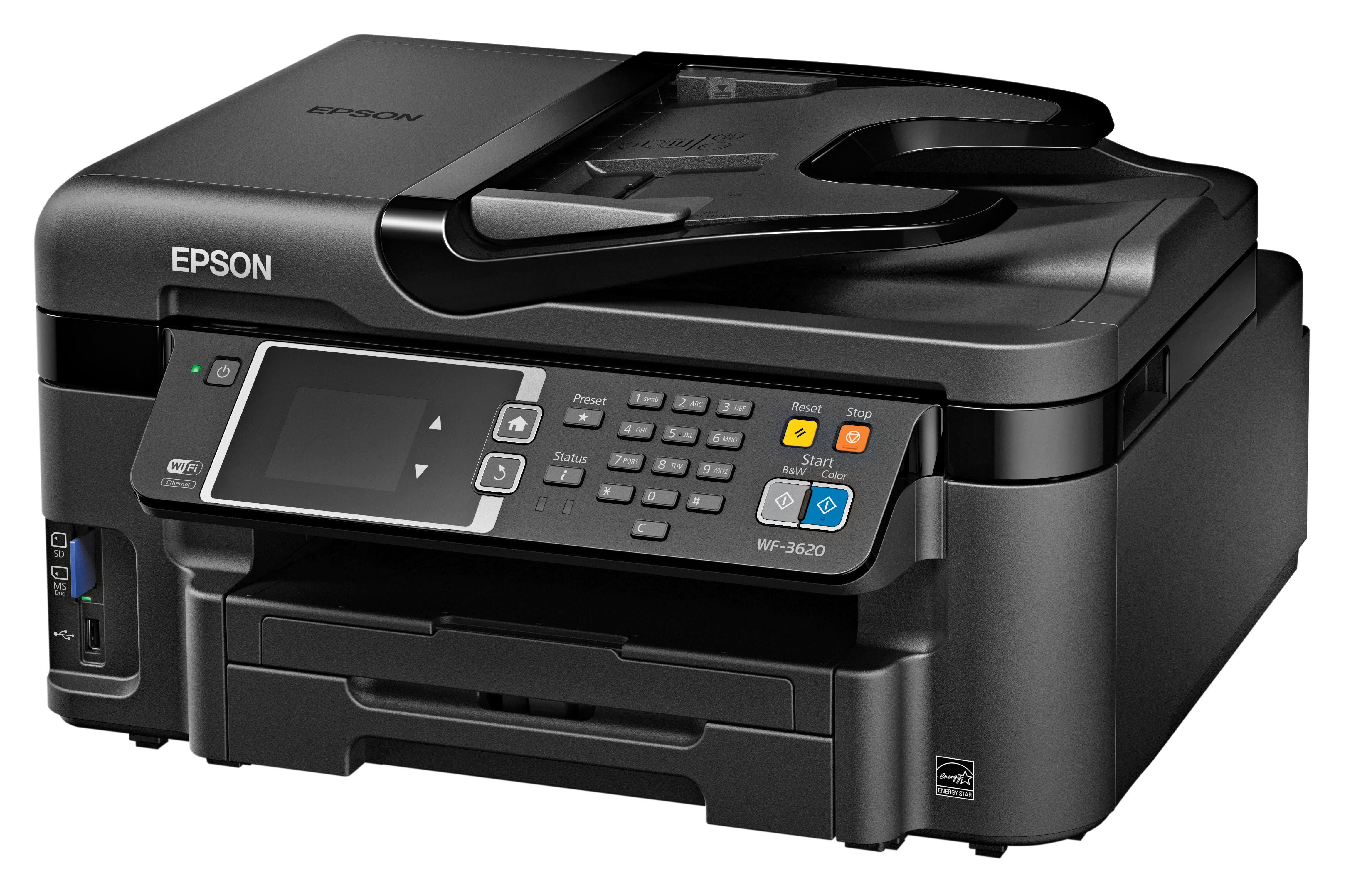 epson workforce printers with precisioncore printheads