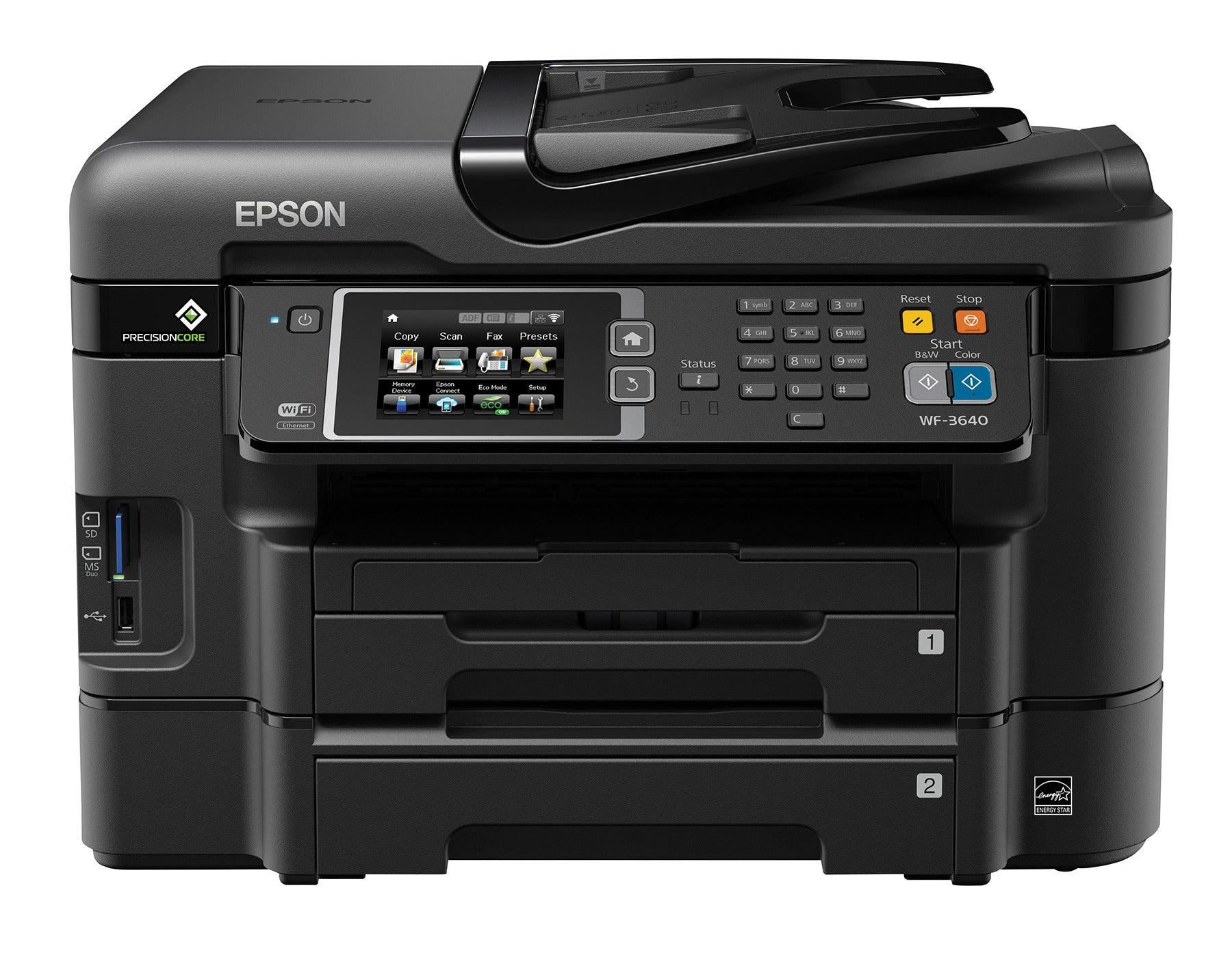 Epson WorkForce printers with PrecisionCore printheads | PCWorld