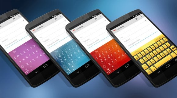 SwiftKey Android keyboard goes free, launches theme store