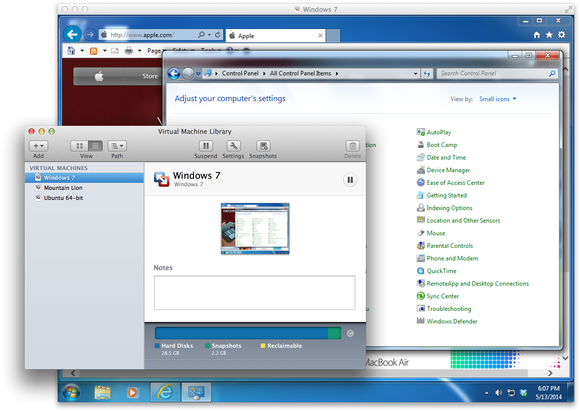 Running Windows on a Mac: Why I prefer VMware Fusion | Macworld