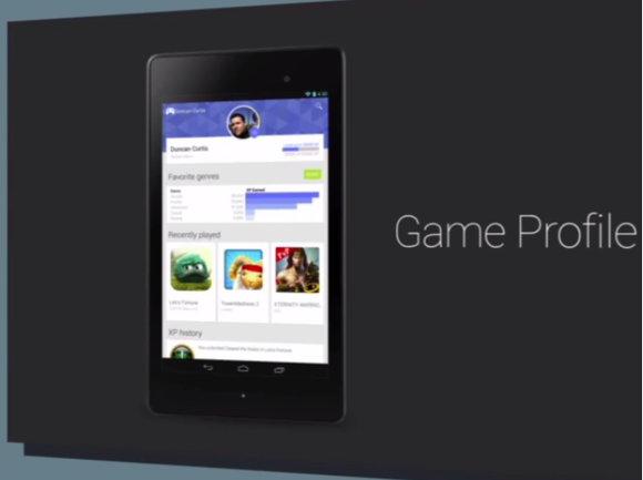 google io game profile