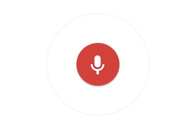 google speech voice