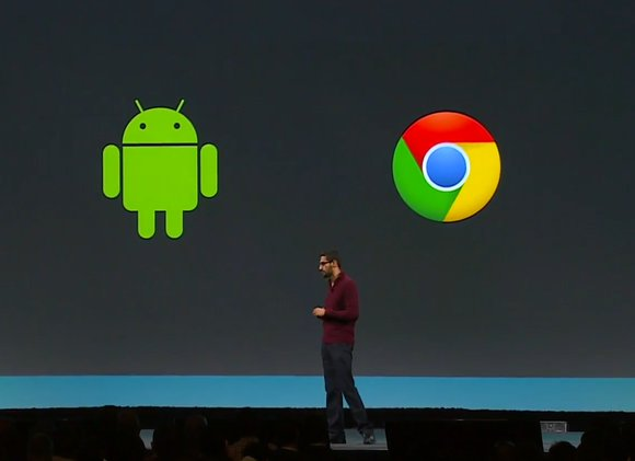 google io android and chrome
