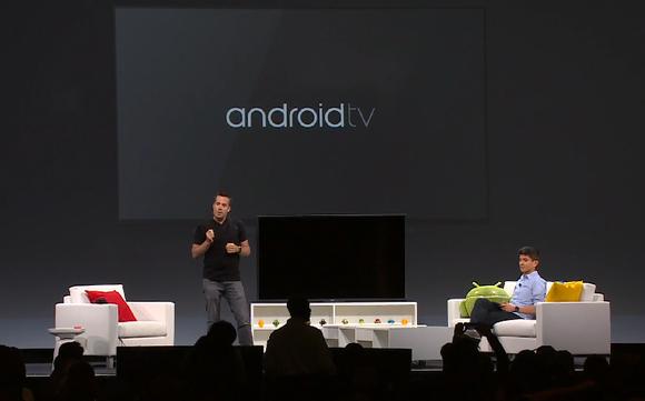 google io android tv