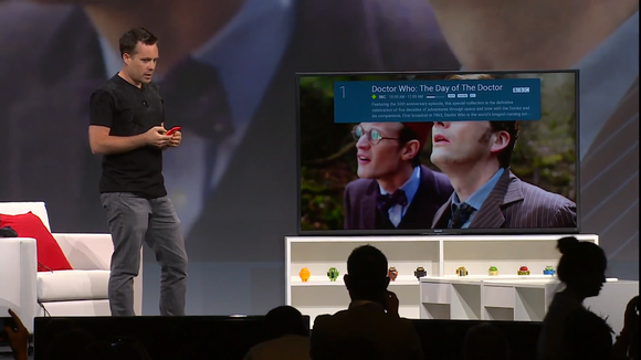 google io android tv doctor who