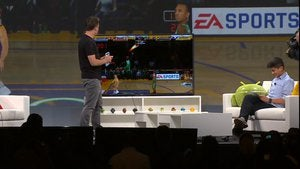 google io android tv nba jam games