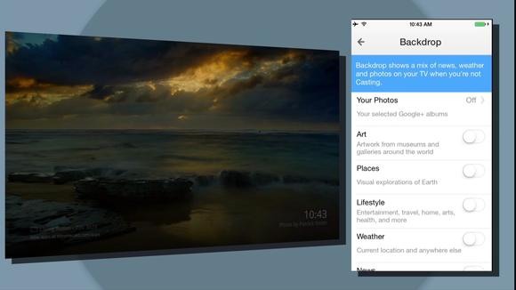 google io chromecast backdrop