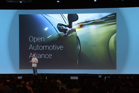 google io 2014 open automotive alliance