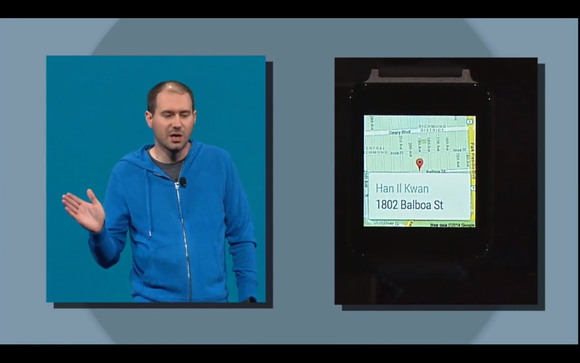google io android wear directions