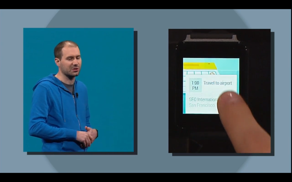 google io android wear swipe